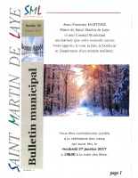 Bulletin n° 93 – Janvier 2017