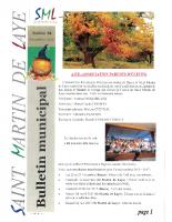 Bulletin n° 92 -1 – novembre 2016