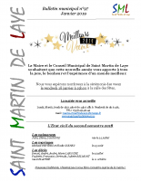 Bulletin n°97 – Janvier 2019