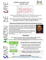 Bulletin n°99 – Janvier 2020